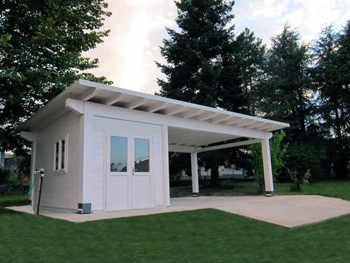 idee per tettoie per macchine : Tettoie in legno per auto - carport, autocover