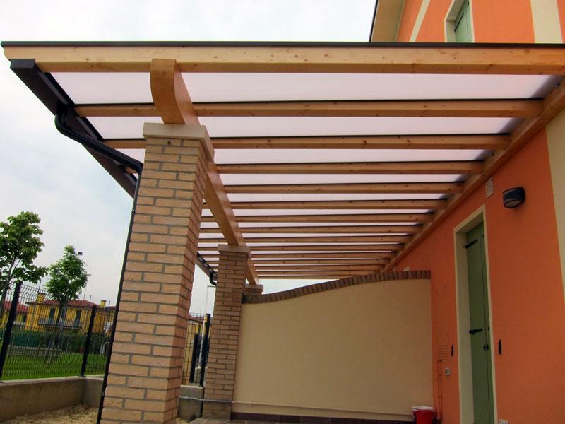 Pergolato di legno polyclassic clp203 for Costo per costruire pilastri di pietra
