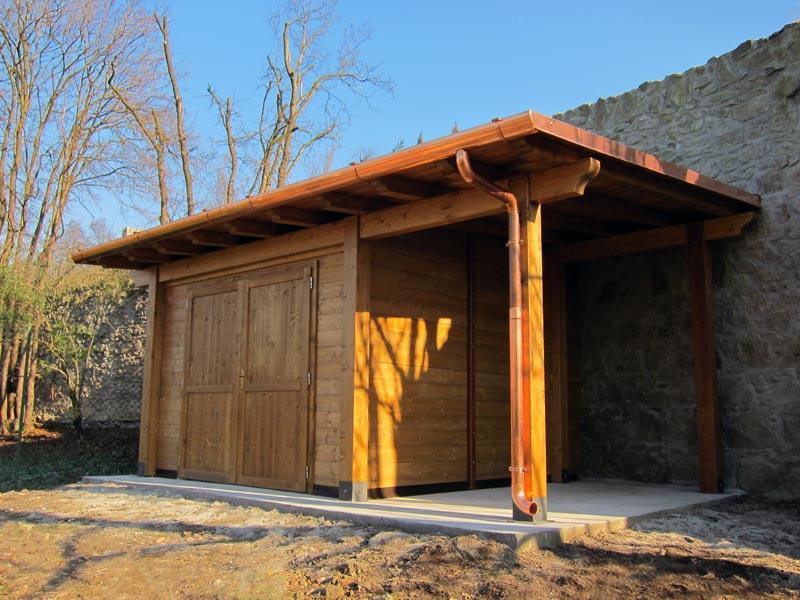Casetta in legno monofalda c1202 - Casette in legno per giardino ...
