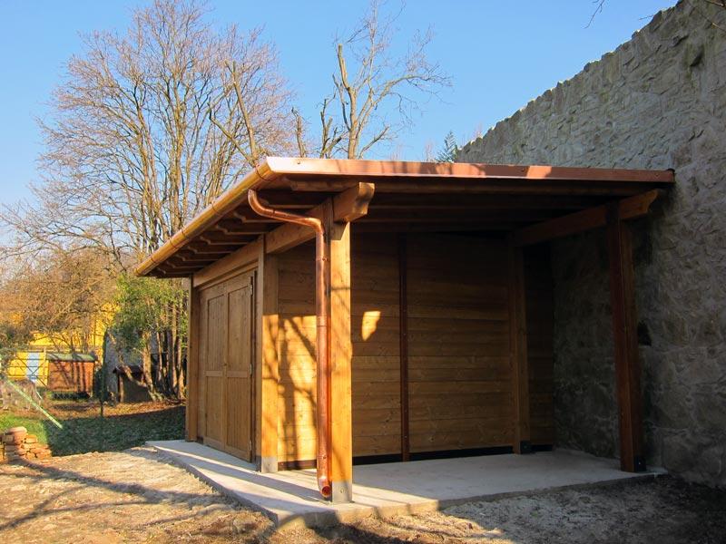 Casetta in legno monofalda c1202 for Casette legno giardino ikea