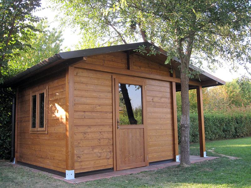 Casetta da giardino con legnaia c2103 - Casette in legno per giardino ...