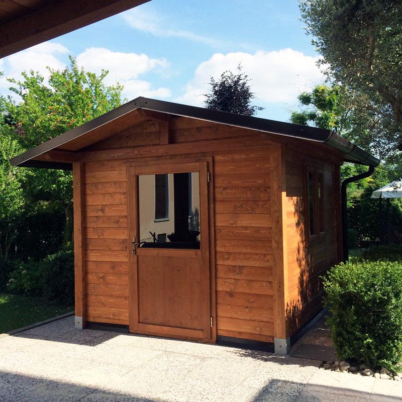 Casetta di legno per giardino c2120 - Casetta in legno da giardino bianca ...