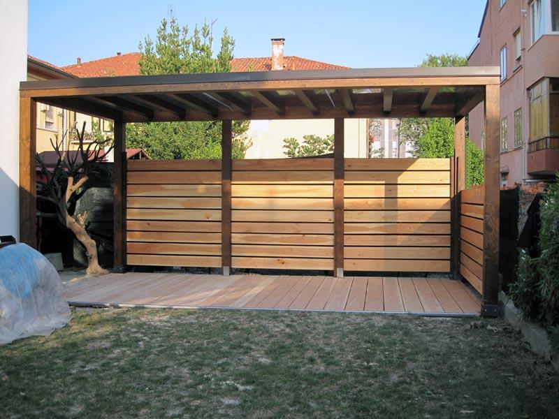 Gazebo da giardino di legno gp410 for Gazebo legno arredamento